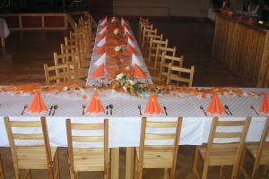 Prokopovi-oranžová výzdoba